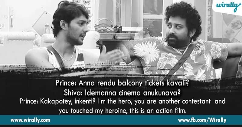2. Prince and Shiva Balaji