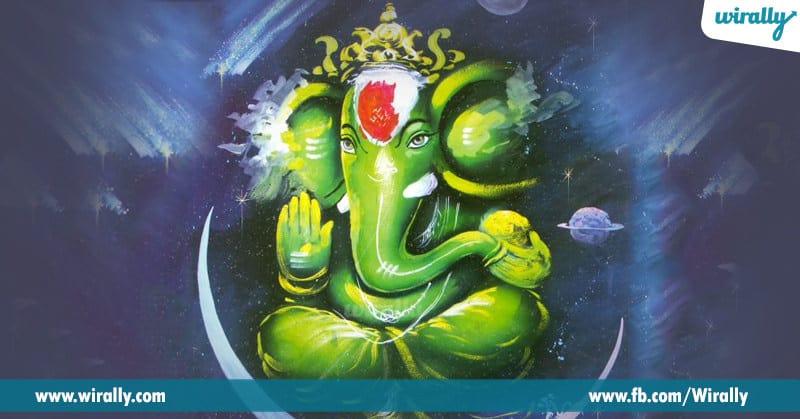 2. Puranala prakaram, Ganesh