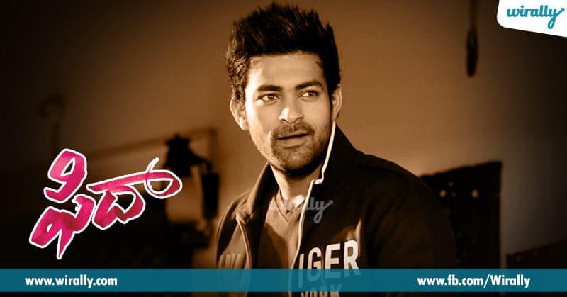 2. Varun Tej from Fidaa