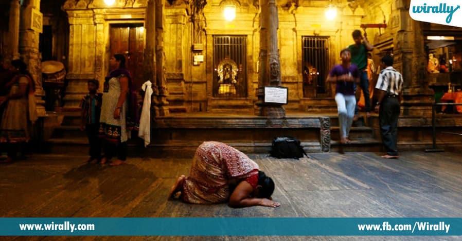 3 visiting a temple during Amavasya
