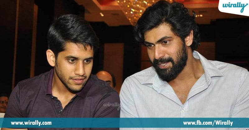 3. Naga Chaitanya and Rana Daggubati