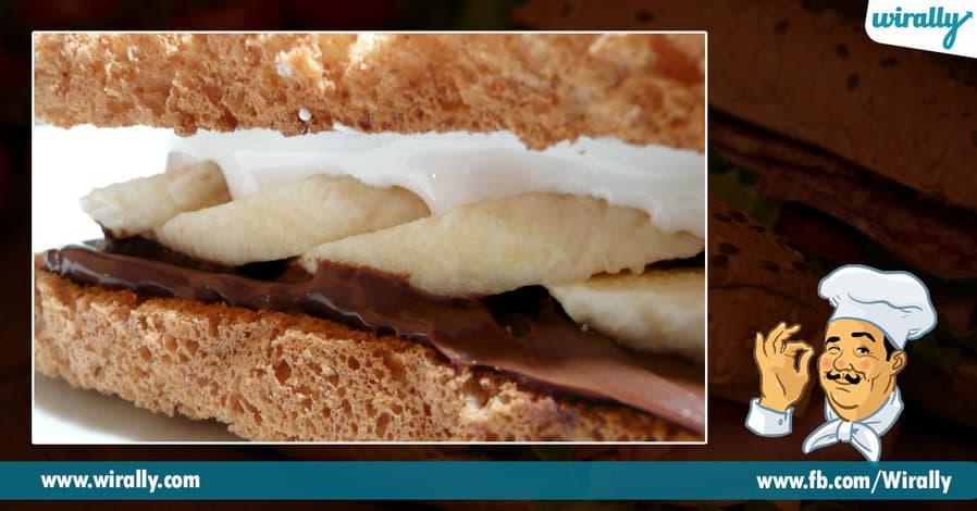 4 sandwiches