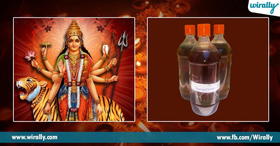 5 Types of oil used during Deeparadhana