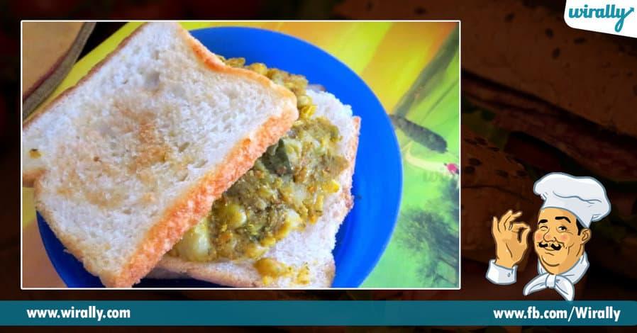 5 sandwiches