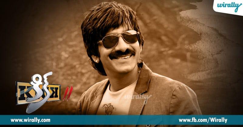 6 Ravi Teja from Kick 2