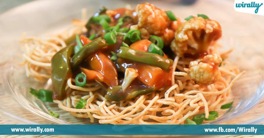 9 Chinese Dishes that are seen only in India