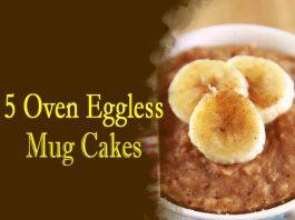 Food, Banana, Chocolate and Peanut Butter Mug Cake,Banana and Cinnamon Mug Cake, Banana and Walnut Mug Cake, Banana Muffin Mug Cake, Banana and Nutella Mug Cake,