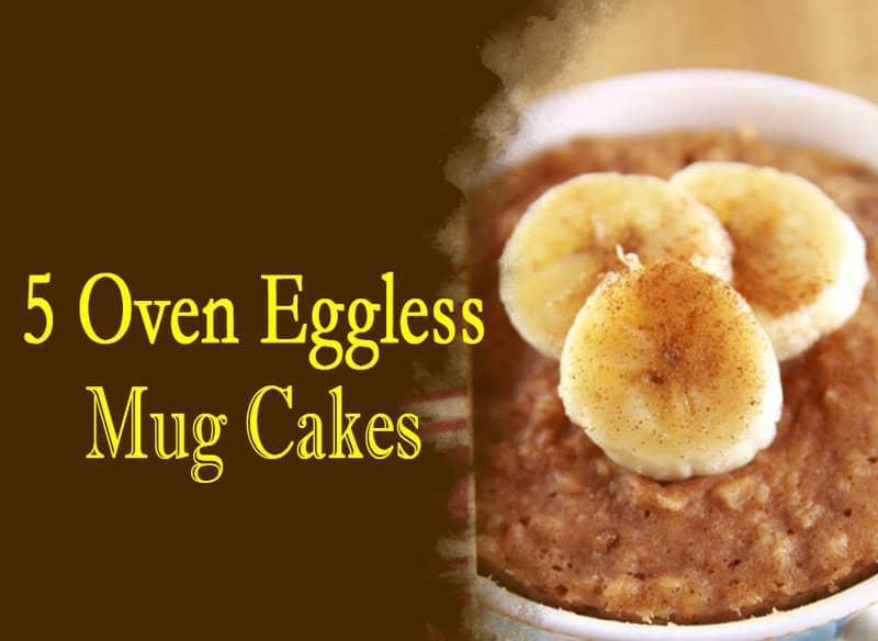 Mug Cake In Oven Eggless