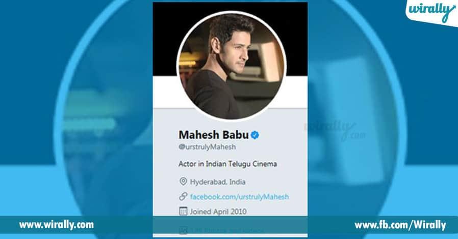 Mahesh Babu Twitter