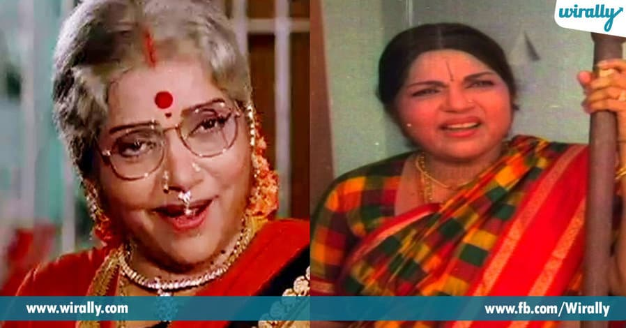 1 Best Grand Maa's From Telugu Films