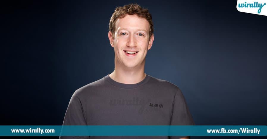 1 - Mark Zuckberg