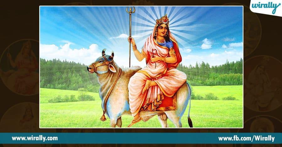 1 avataras and colors of Durga Ammavaru
