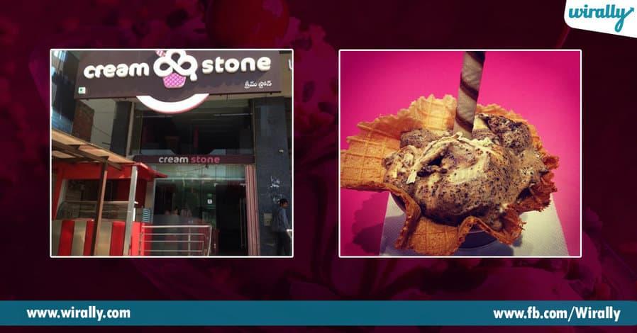1 best icecream joints in Hyderabad