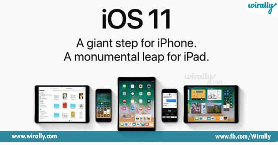 1 iOS 11A Giant step for iPhone