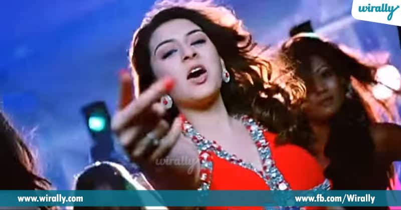 2 . Hansika Motwani in Billa