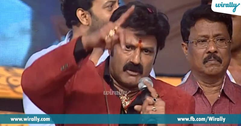 2. Balakrishna dialogue from Legend at audio launch