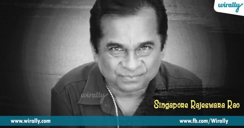 2. Singapore Rajeswara Rao in Dookudu