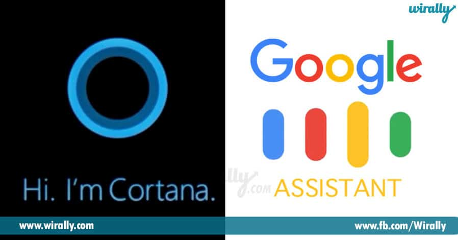 3 - Cortana & Google Assiatant
