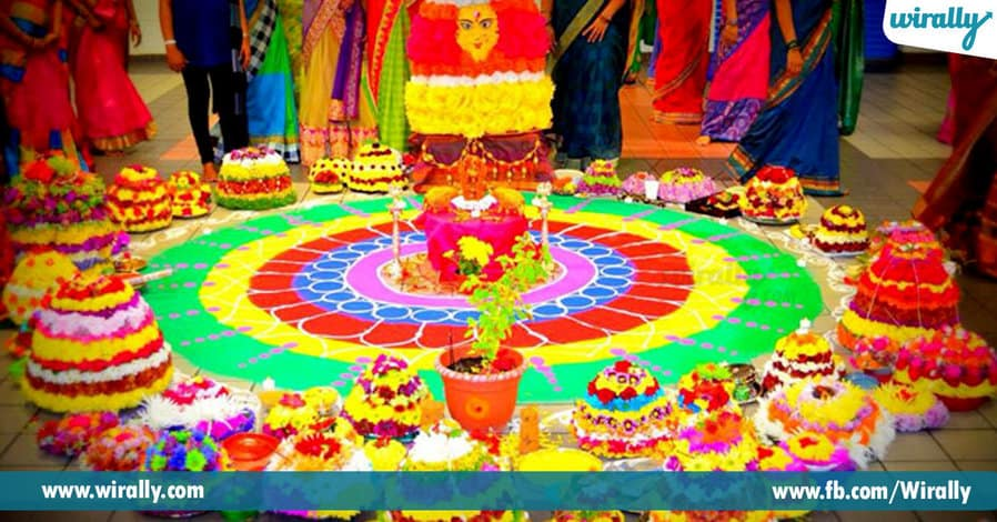 3 The story behind Bathukamma being so colorful