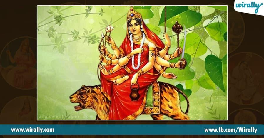 3 avataras and colors of Durga Ammavaru