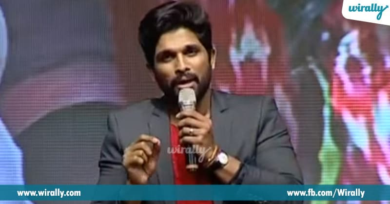 3. Allu Arjun Cheppanu Brother at Oka Manasu Audio Launch