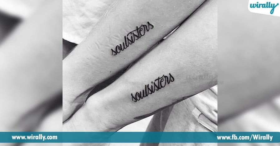 4 Amazing Tattoos you can share with your BFFs