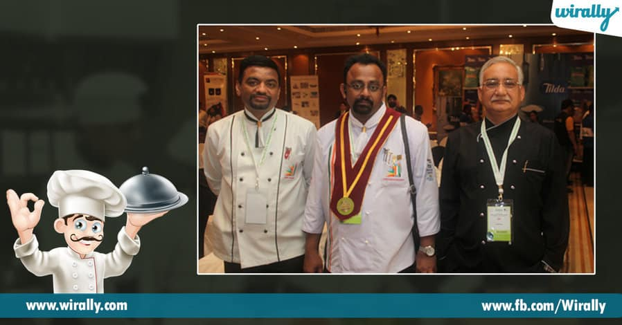 4 things about Hyderabad's Chef Sudhakar Rao