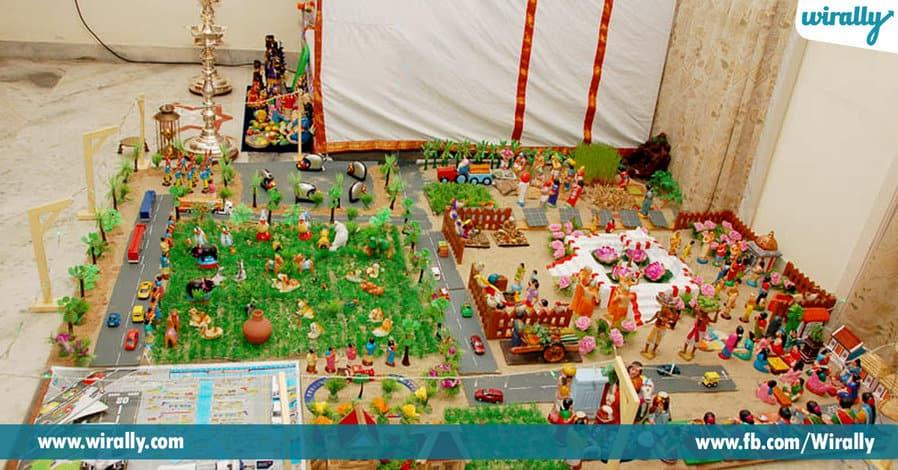 5 Theme ideas for bommala koluvu