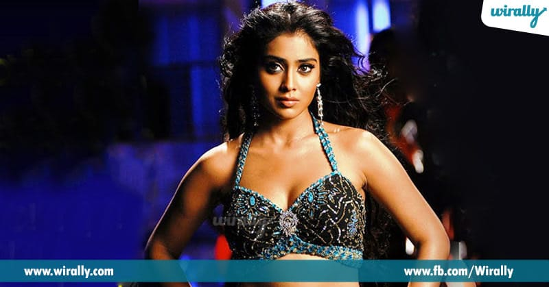 5. Shriya Saran in Nakshatram and Komaram Puli