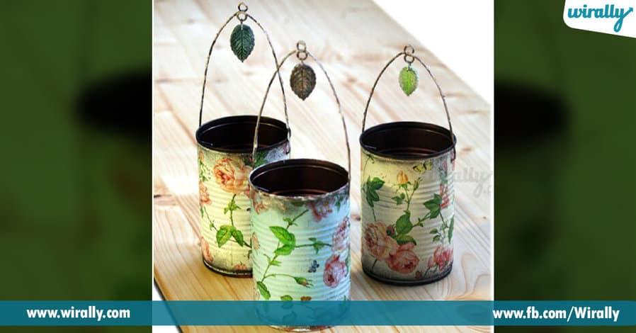 6 DIY Ideas To Reuse Tins