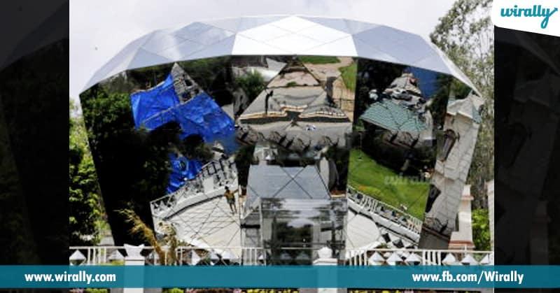 6 Diamond shaped house – Jubilee hills