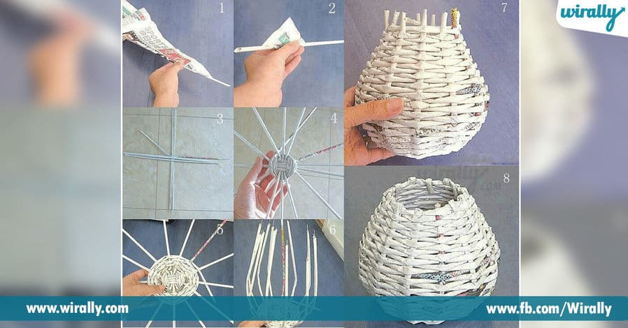7 DIY Ideas To Make Home Decor Items With Newspaper