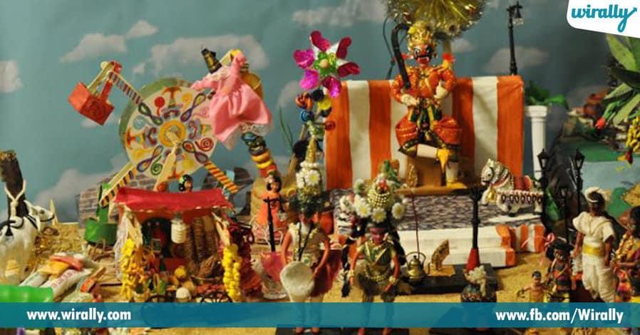 7 Theme ideas for bommala koluvu