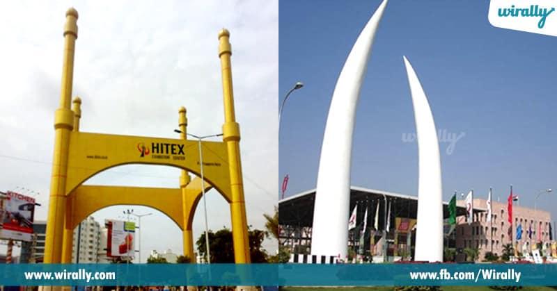 7. Hitex (Hyderabad International Trade Expositions Ltd) exhibition centre