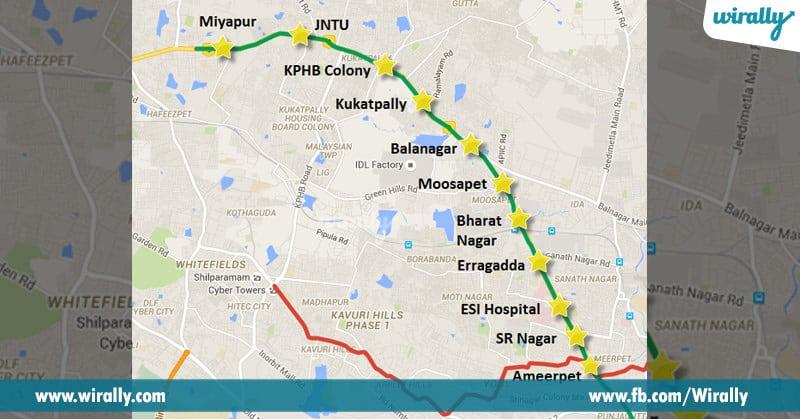 7. Inauguration metro railway