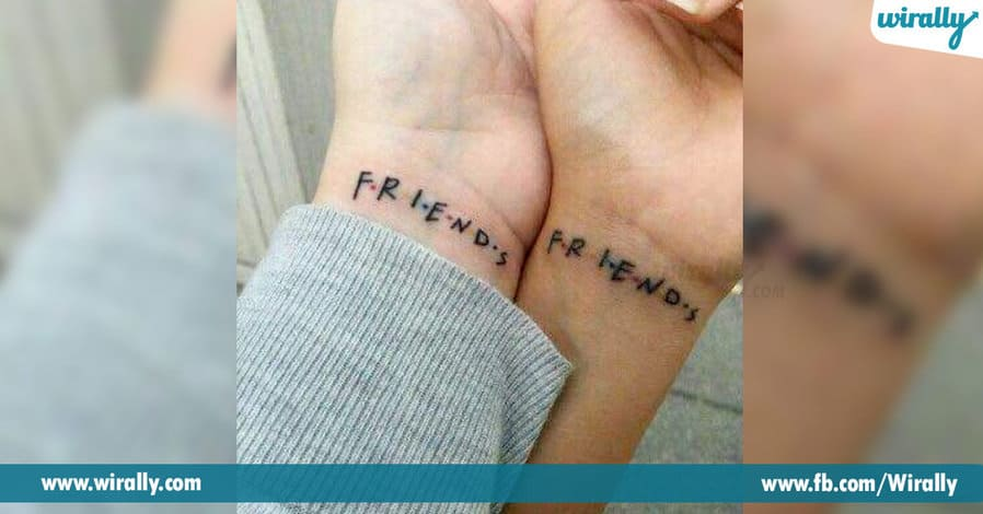 8 Amazing Tattoos you can share with your BFFs