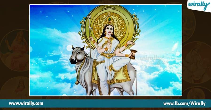 8 avataras and colors of Durga Ammavaru
