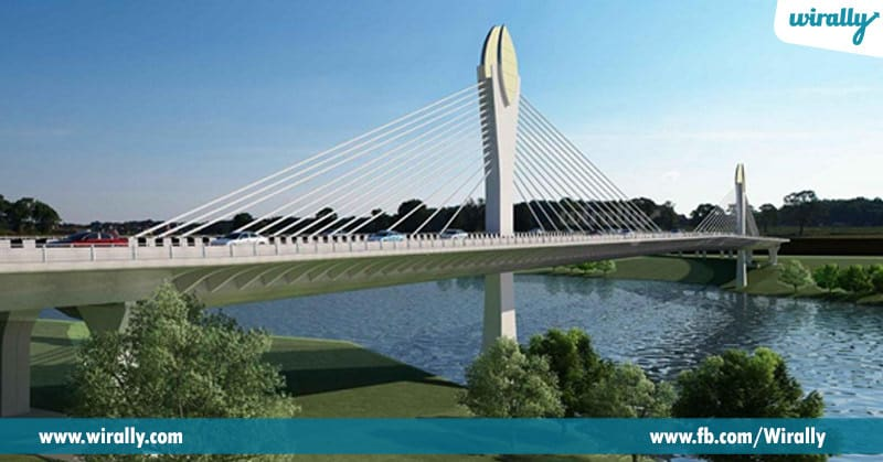 8. Suspension bridge Yet to be constructed ()