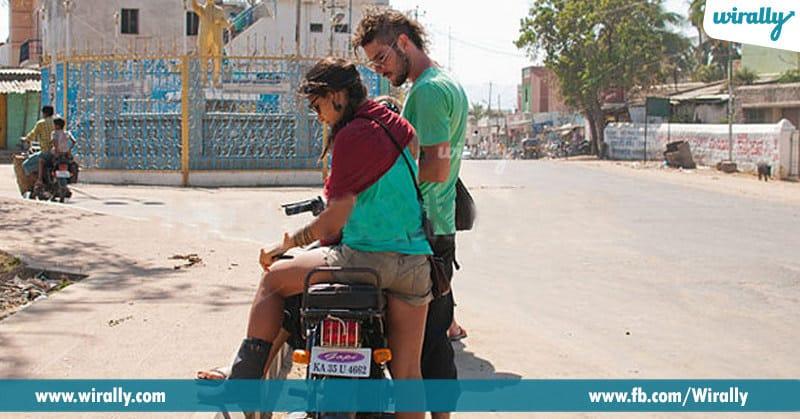 9) Epudu kathi la pani chese mana bike amma
