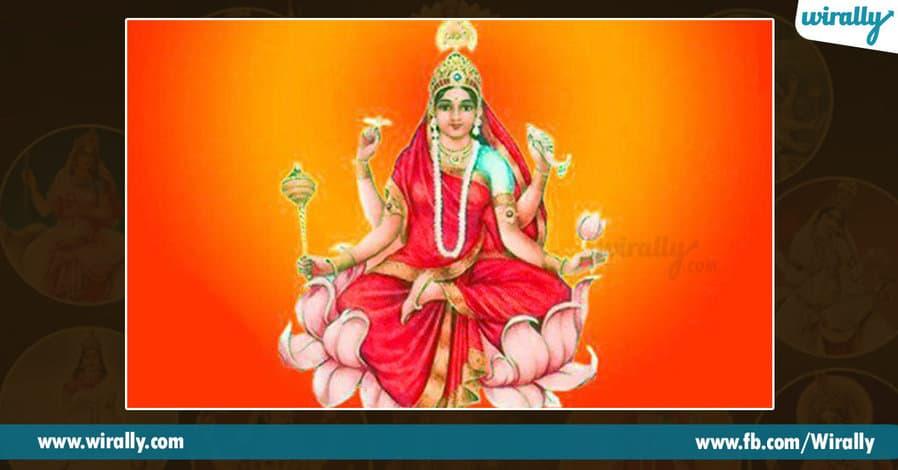9 avataras and colors of Durga Ammavaru