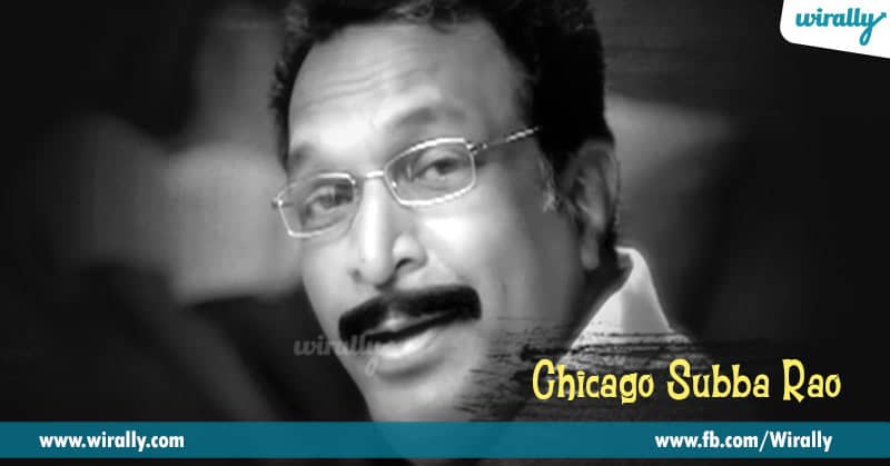 9. Chicago Subba Rao in Ready