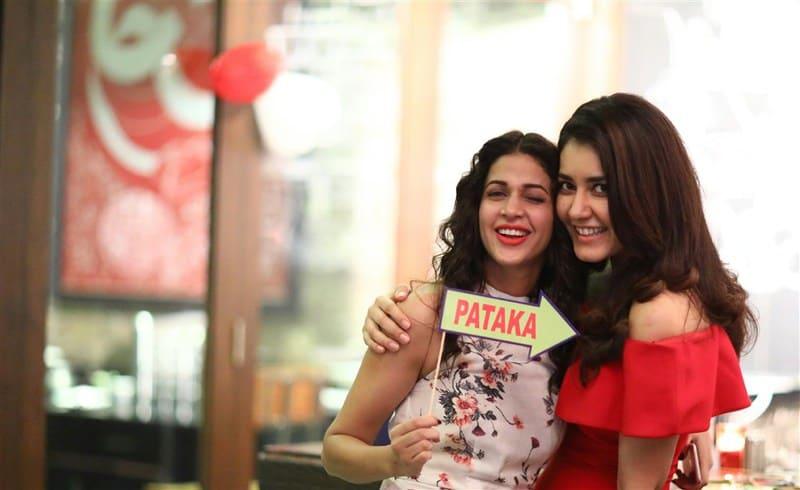 Lavanya Tripathi @ Rashi Khanna Birthday Party 2016 Photos