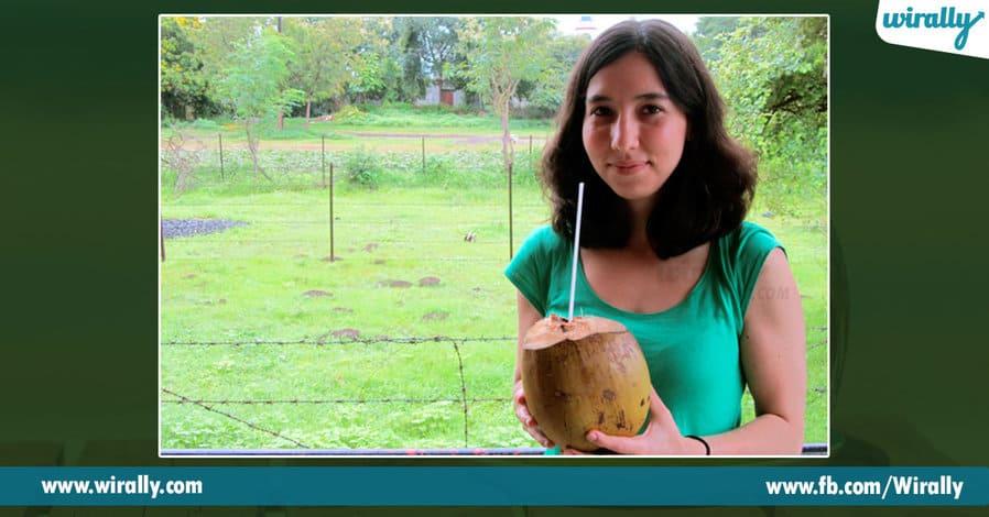 1 Eppudeppudu coconut water thagali