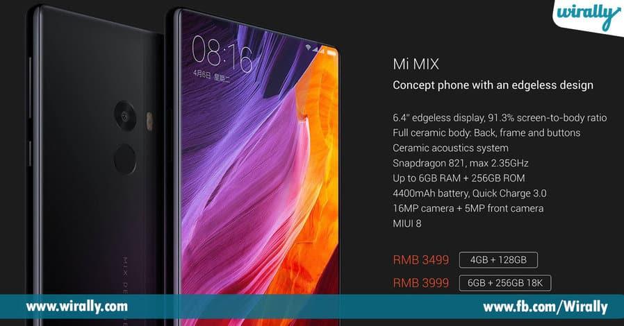 1 Xiaomi Redmi Falgship Device Mi Mix 2 Launched