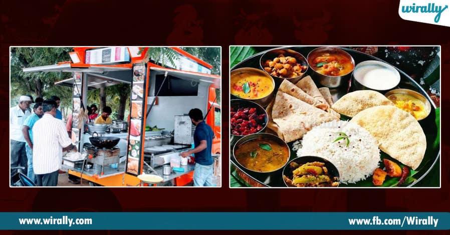 10 Food trucks in Hyderabad