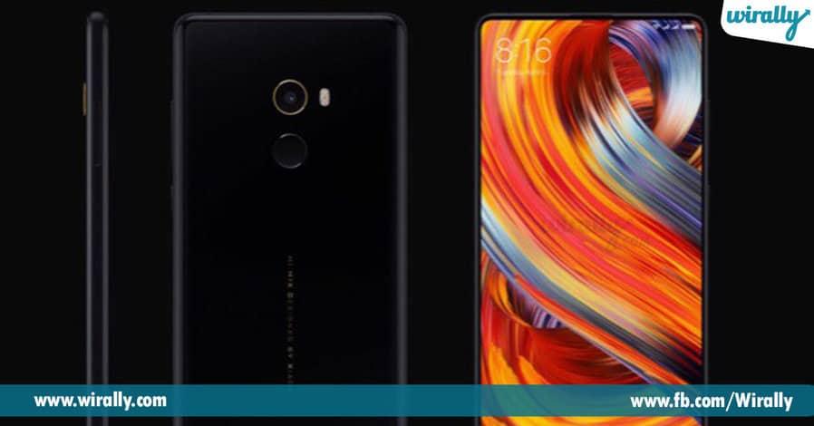 2 Xiaomi Redmi Falgship Device Mi Mix 2 Launched