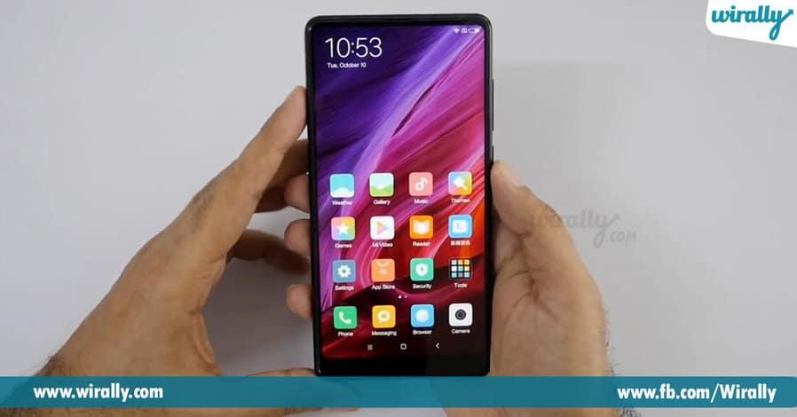 3 Xiaomi Redmi Falgship Device Mi Mix 2 Launched
