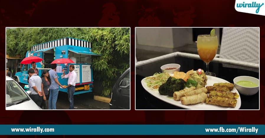 5 Food trucks in Hyderabad
