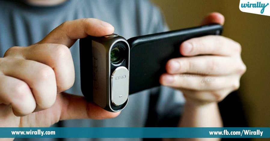 6 DxO's Detachable Smartphone Camera