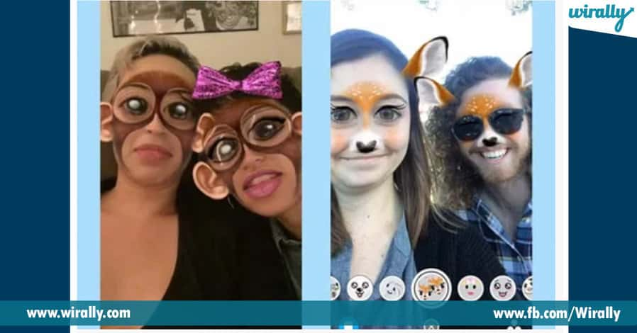 7 best filters of Snapchat